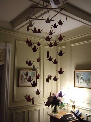 Paper Crane Mobile Make