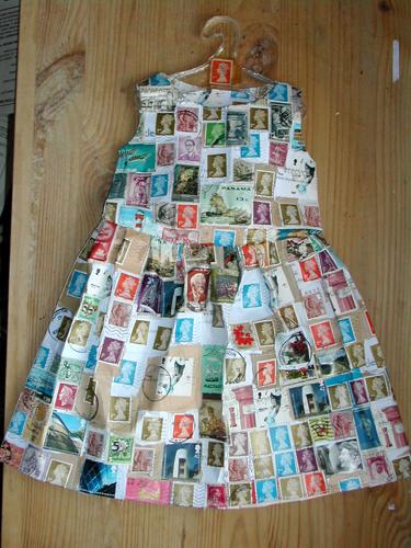 Jennifer Collier Paper Clothing Art Make