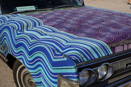 Images, Maker Faire, Yarn Car Closeup