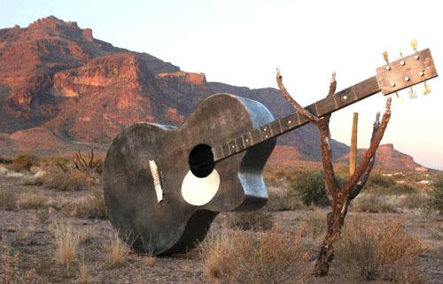 Giant Guitar