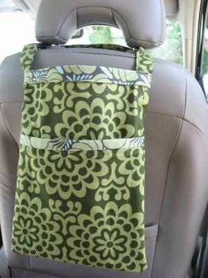 Fabric In Car Trashbag Make