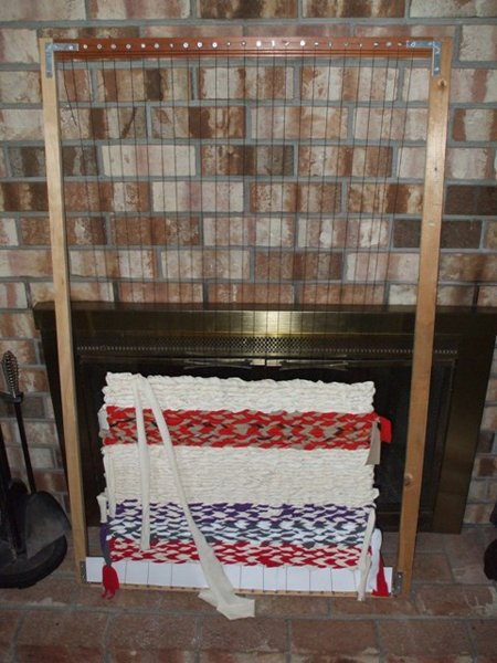 How To Make A Floor Loom Make
