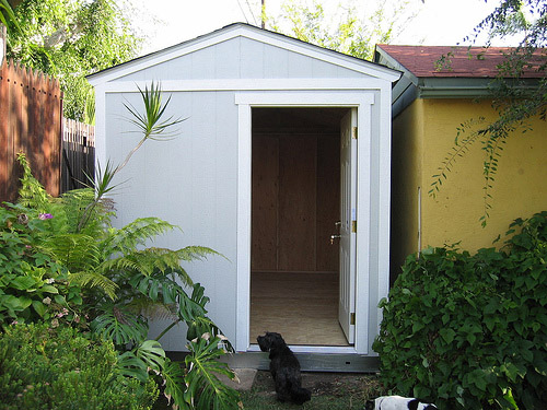 Convert your shed into an office make diy projects how for Diy office shed