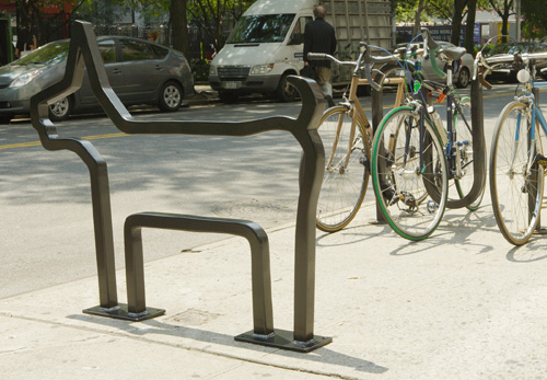 Art Bike Racks Views Photo The-Villager