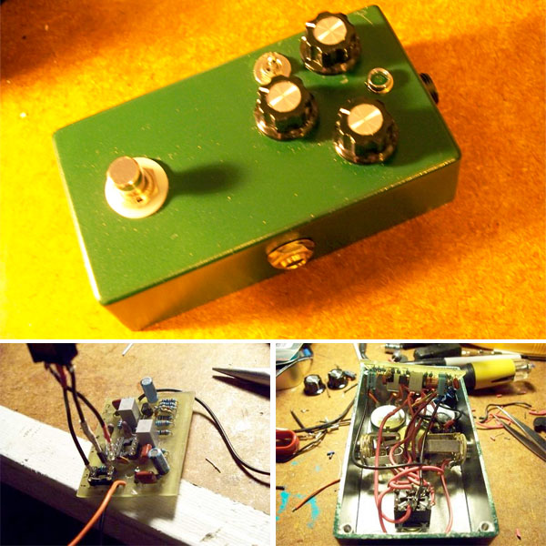 how to build a tube screamer guitar pedal make diy projects how tos electronics crafts. Black Bedroom Furniture Sets. Home Design Ideas