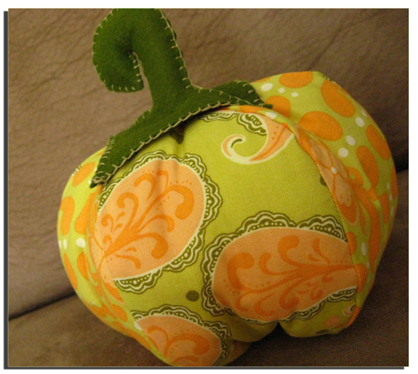 Fabric pumpkin tutorial make
