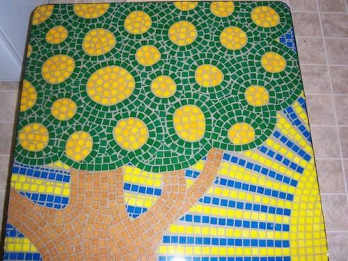 mosaic tree of happiness
