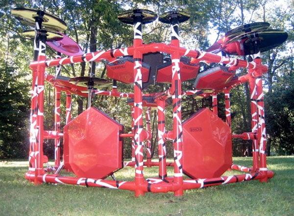 Redrig Drumkit