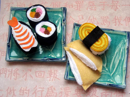 taiwan felt sushi