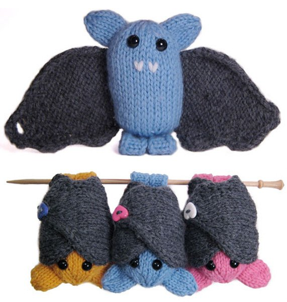 Boo The Bat Pattern From Mochimochiland Make