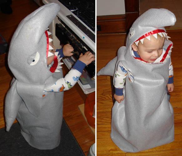 halloween shark