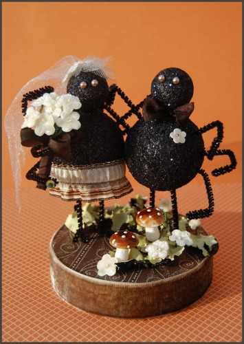 halloween wedding cake toppers how to wedding cake topper make 4674