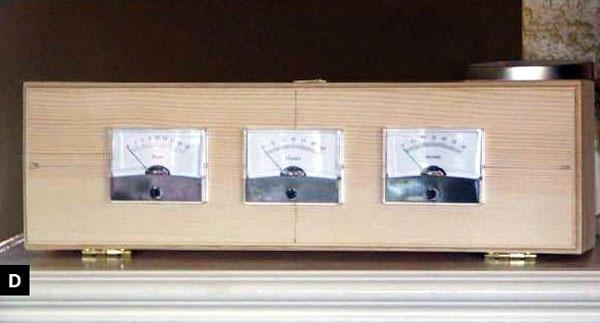 How to make an analog amp meter clock make for Metre laser castorama lille