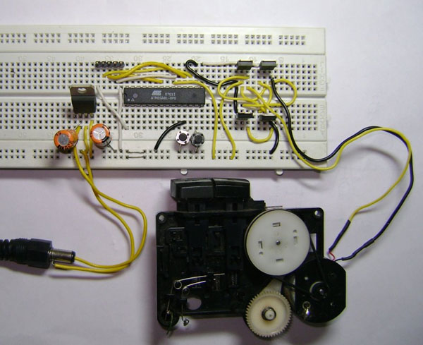 Simple Pwm Dc Motor Control With An Avr Make Diy