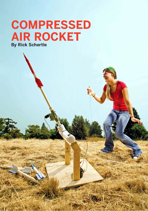 how to make a homemade water rocket