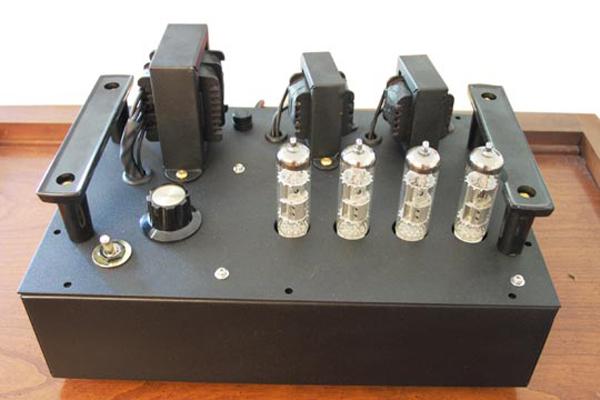 build your own tube amplifier make make. Black Bedroom Furniture Sets. Home Design Ideas
