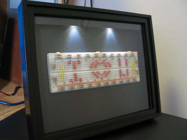 Diy Light Up Picture Frame Make Diy Projects How Tos