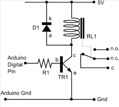 Arduino Use Arduino As To Switch To Power Up 12v Pump on wiring diagram symbol contactor