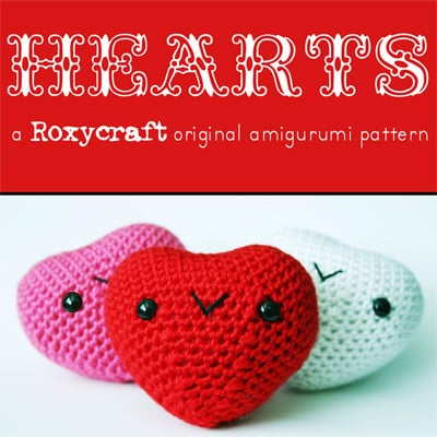 Amigurumi Heart Tutorial : Amigurumi Heart Pattern Make:
