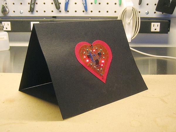 electronic valentines card