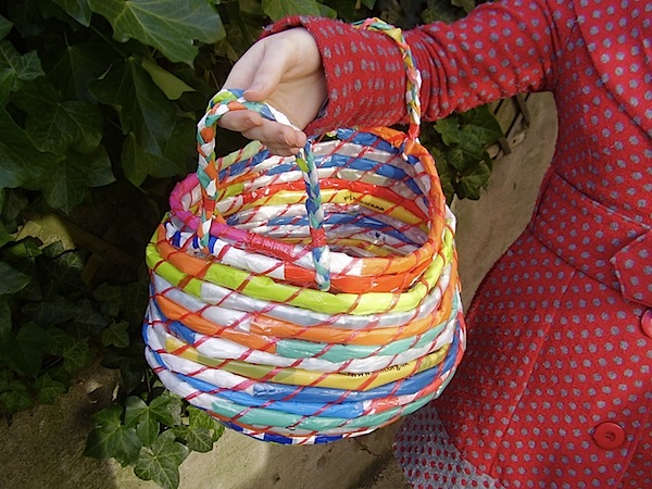 How-To: Coil Basket with Plastic Bags