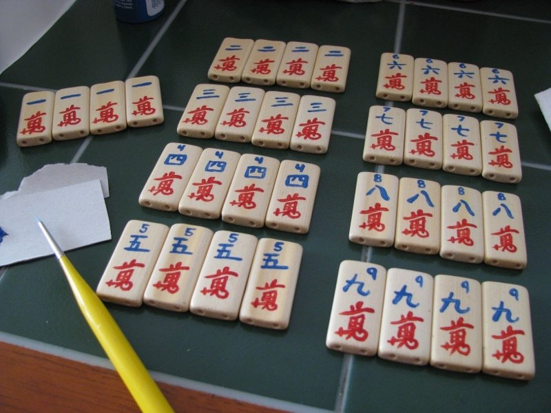 mahjong bild