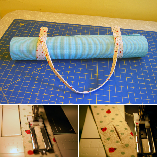 How-To: Sew A Yoga Mat Strap