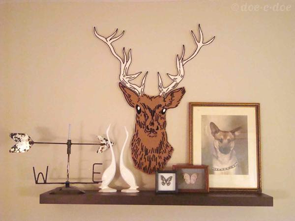 Diy Deer Head Template