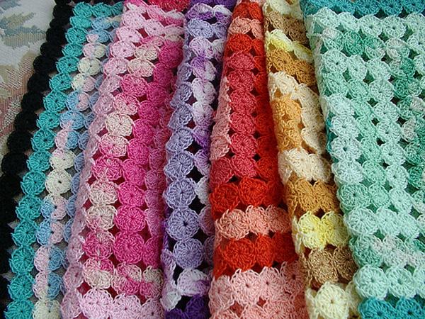 Crochet yo yo afghan tutorial make for Yo yo patterns crafts