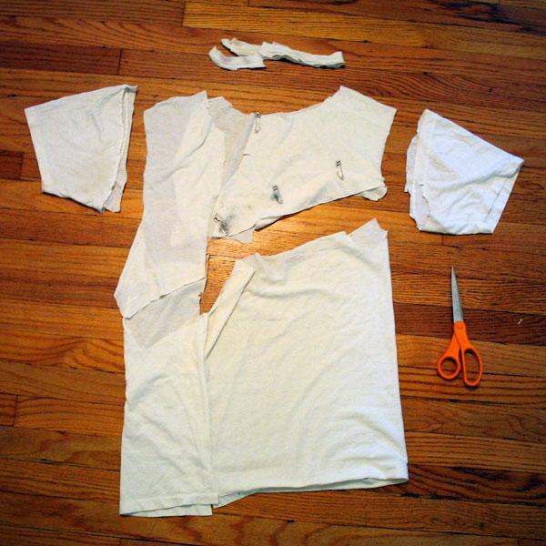 How-To: T-Shirt Wedding Dress