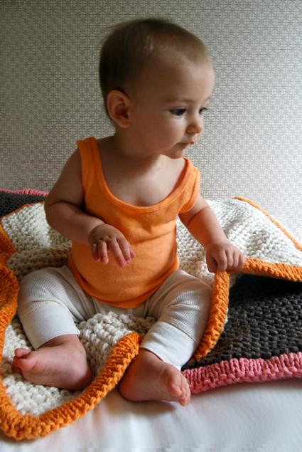 Bulky Baby Blanket Knit Pattern   Make: