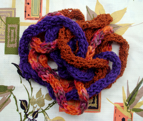 Finger Knitting Uses : Finger knittin good make diy projects how tos