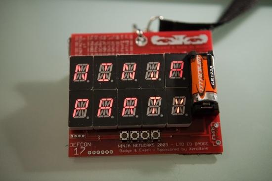 Badge Hacking 13-1