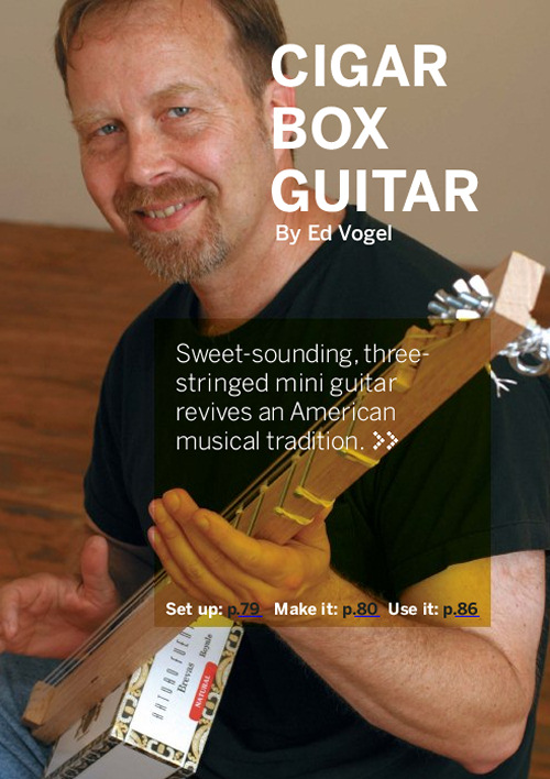 how to build a cigar box guitar pdf