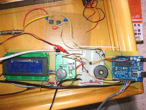 Arduino aquarium controller make