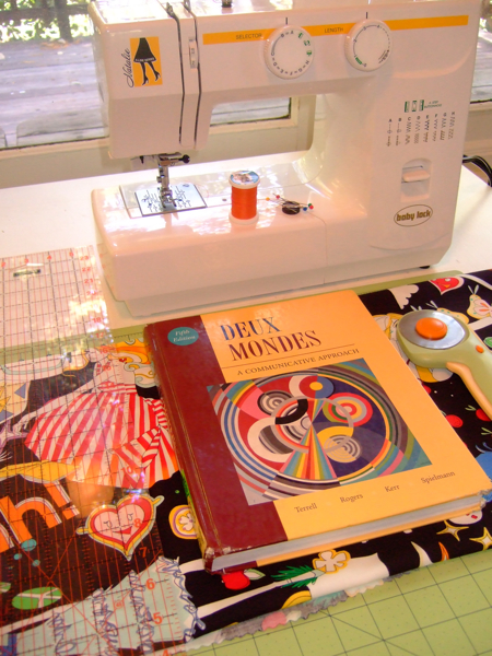 Book Cover Sewing Room : How to sew a simple fabric book cover make