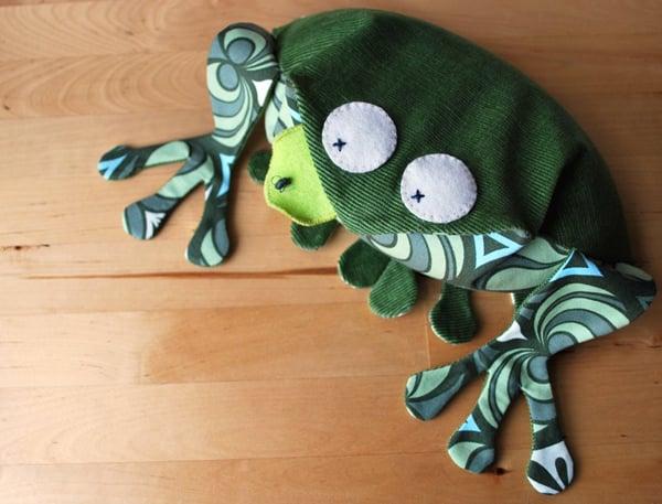 Frog Wheat Bag Tutorial | Make: