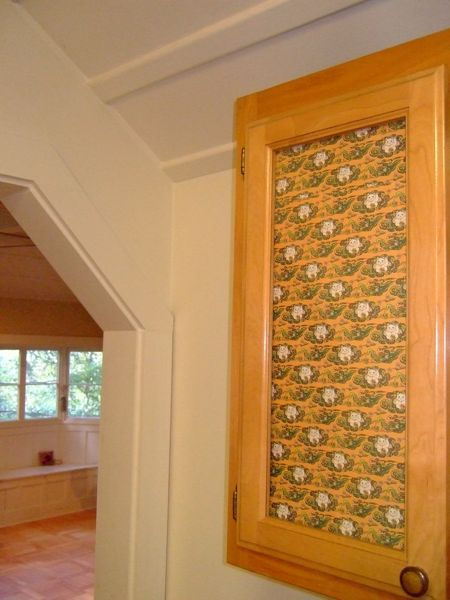 How To Add Decorative Paper To Glass Doors Make