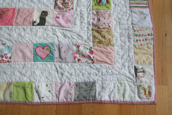 Baby Clothes Quilt Make