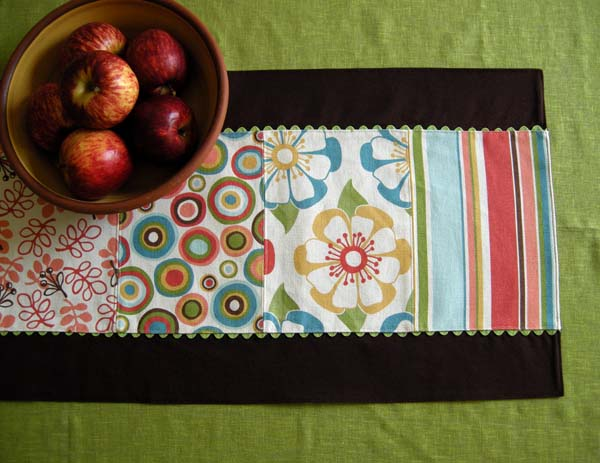 Sew Table Runner Tutorial How-to Sew a Table Runner