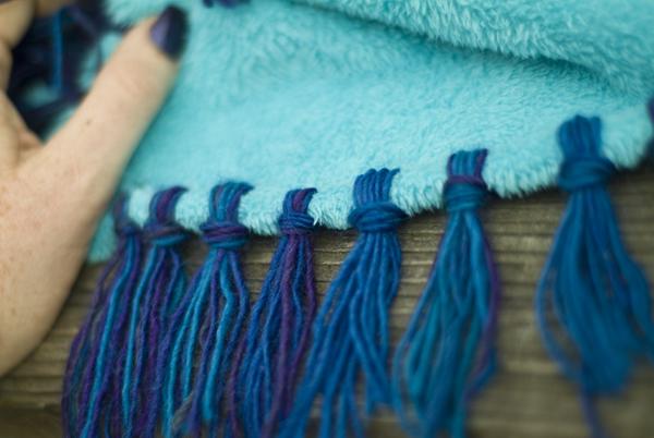 Craft Blankets Fleece No Sew