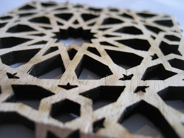 Islamic Pattern Lasercut Box Make