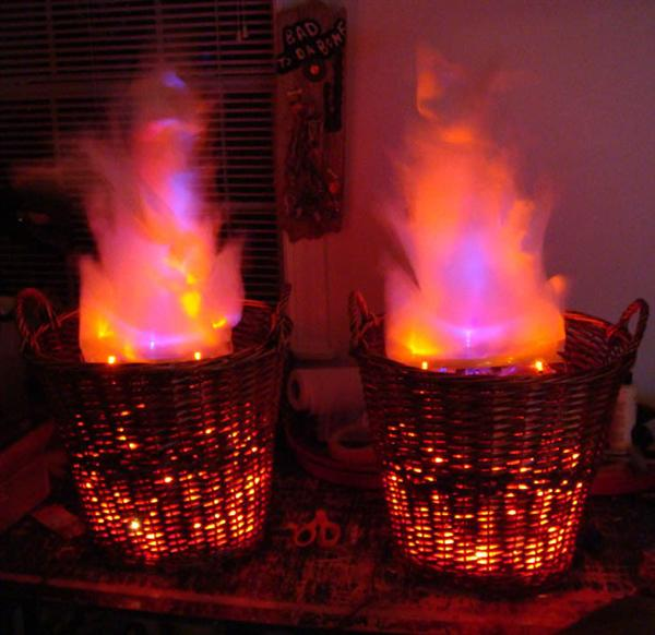How-To: Fake fire baskets | Make: DIY Projects, How-Tos ...