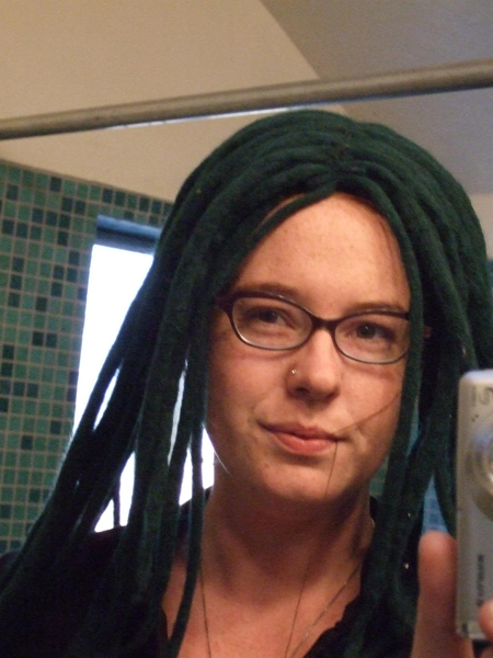 Make A Dreadlock Wig 56