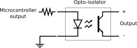 Ask MAKE  Using an optocoupler   Make