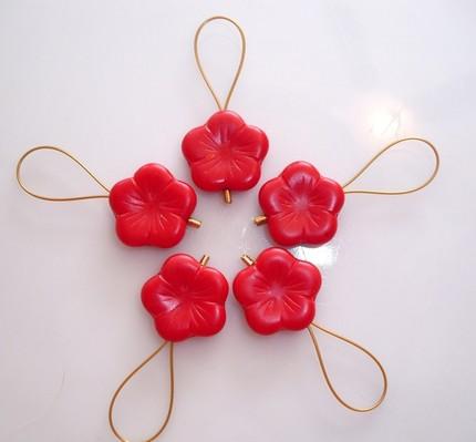 Stitchmarkers Redpoppy