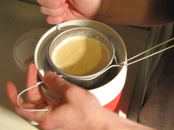 step-06-fit-flask-with-coat-hanger-and-lower-into-bath.JPG