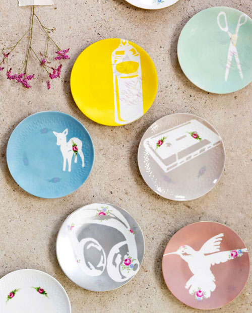 How To Stencil Plates Make