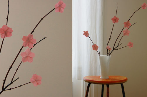 How to Paper Cherry Blossom