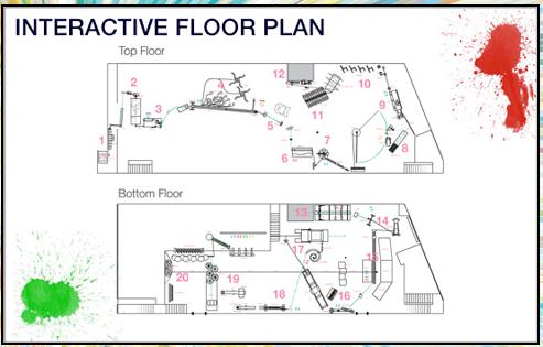 OK Go Rube Goldberg Machine Interactive Floor Plan Make